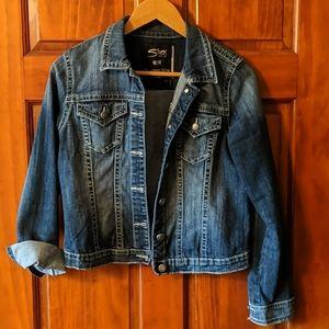 Silver Jeans jacket!